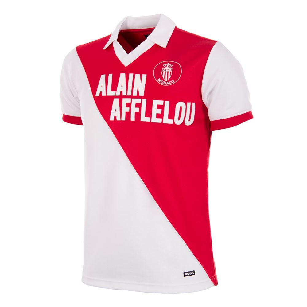 AS Monaco 1987 - 88 Retro Football Shirt   1   COPA
