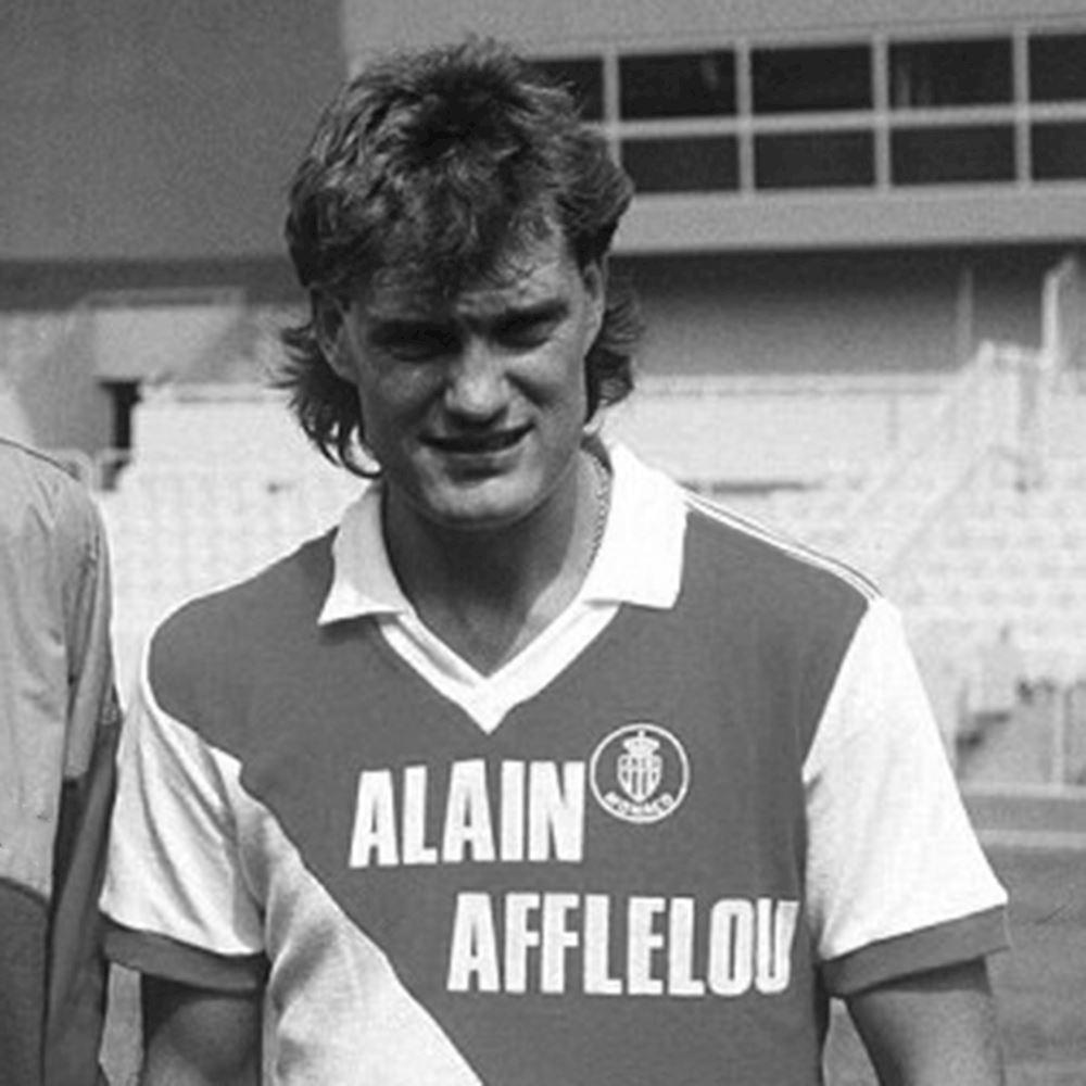 AS Monaco 1987 - 88 Retro Football Shirt   2   COPA