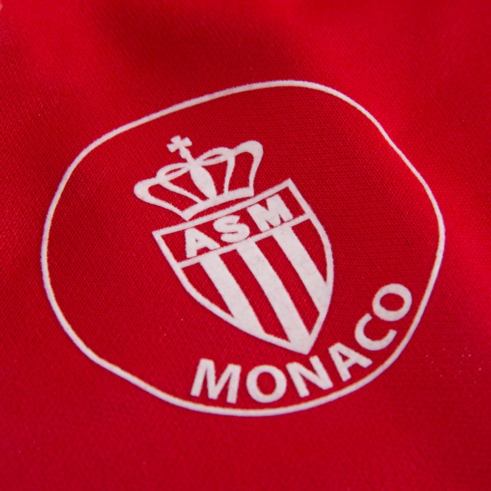AS Monaco 1987 - 88 Retro Football Shirt   3   COPA