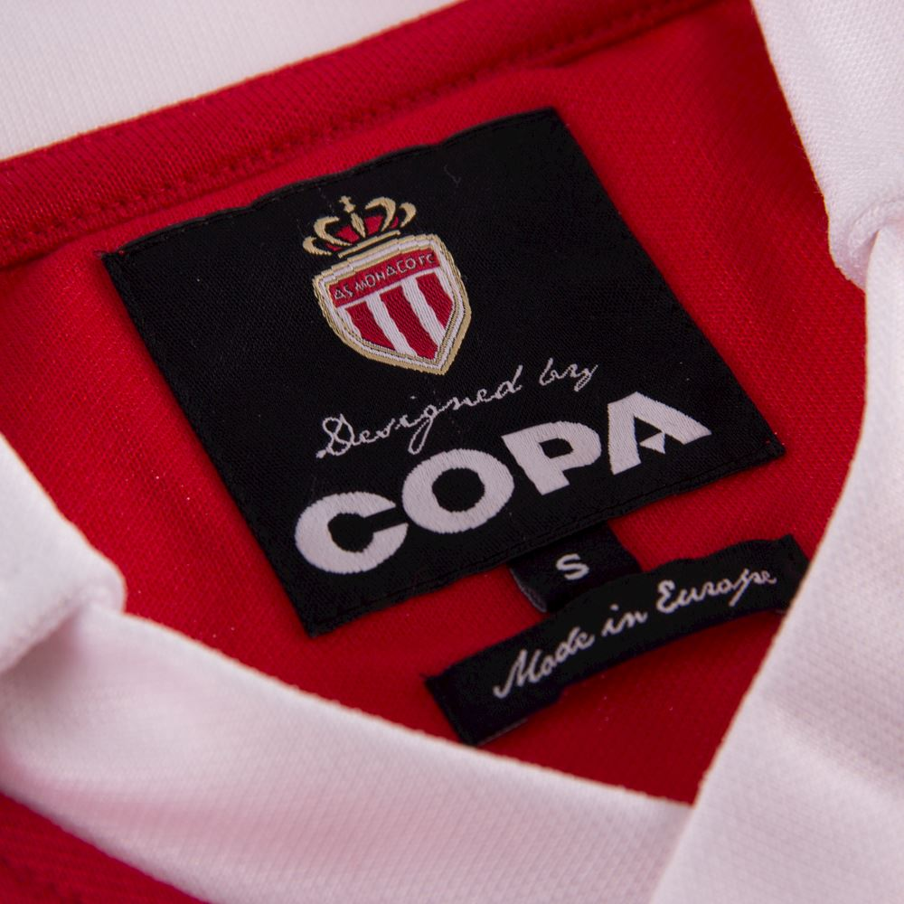 AS Monaco 1987 - 88 Retro Football Shirt   5   COPA