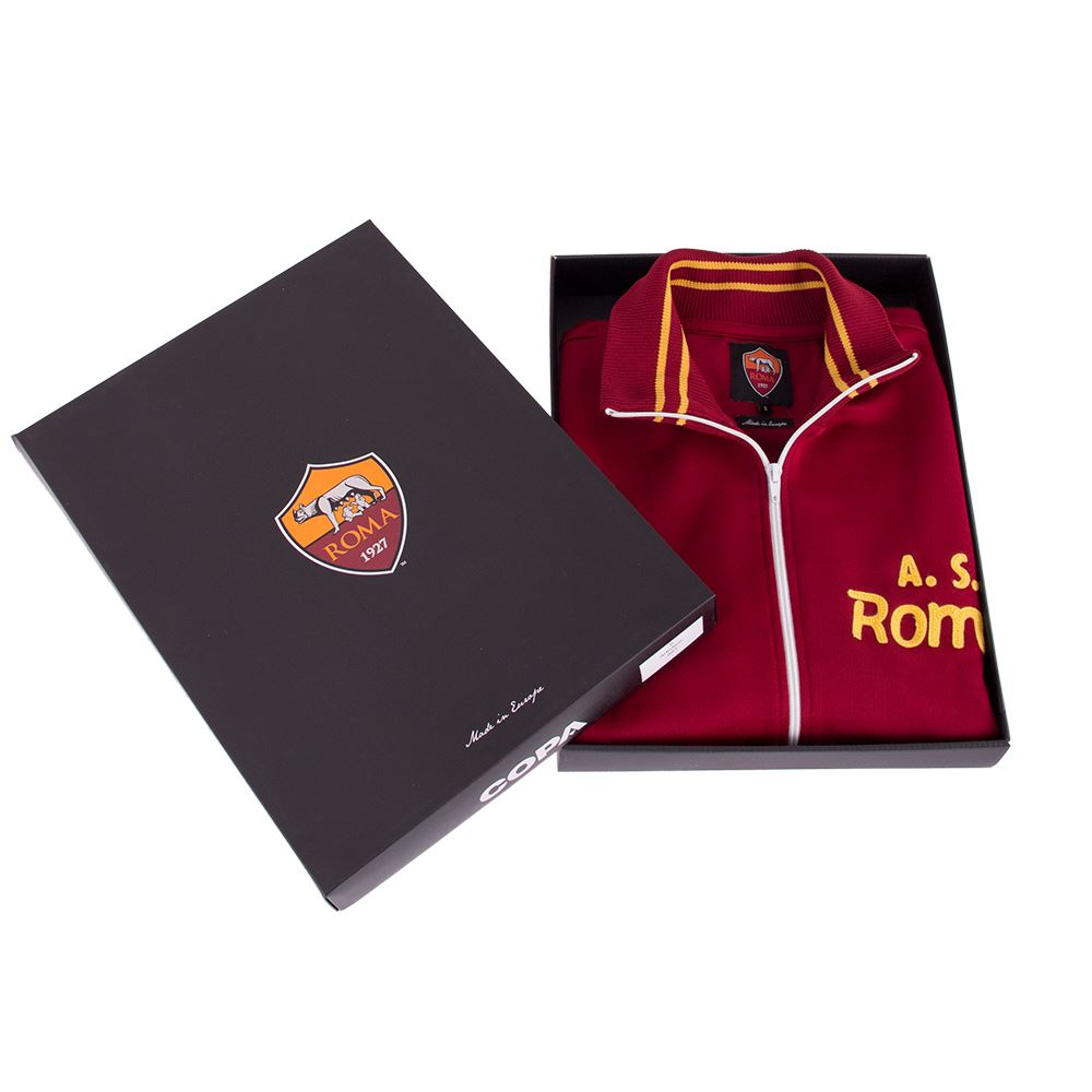 AS Roma 1974 - 75 Retro Voetbal Jack   6   COPA