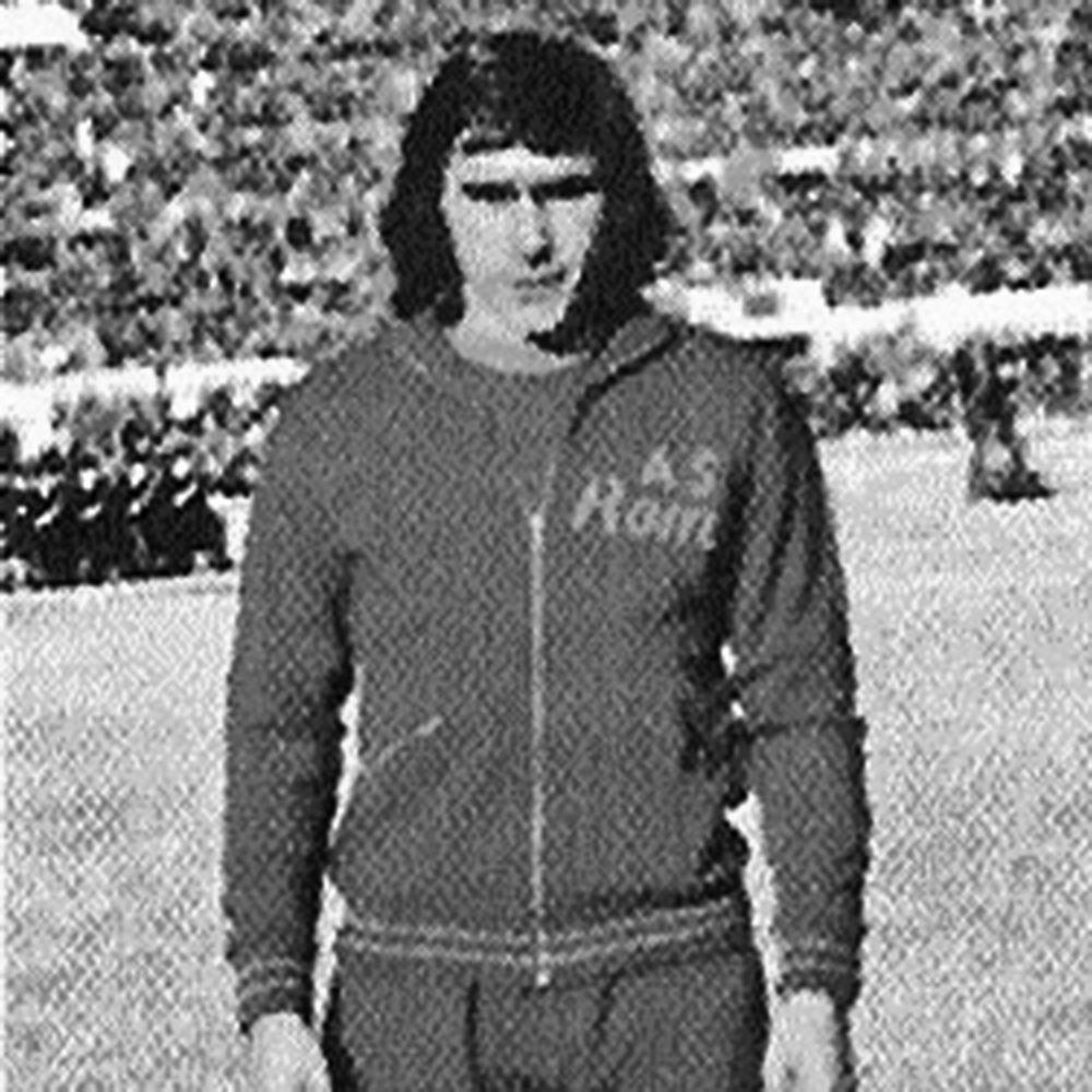 AS Roma 1974 - 75 Retro Voetbal Jack   2   COPA