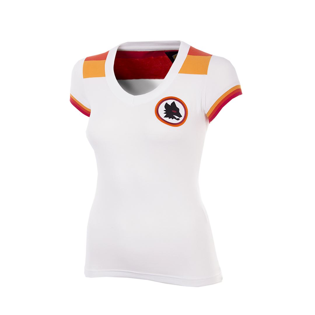 AS Roma 1978 - 79 Away Womens Camiseta de Fútbol Retro | 1 | COPA