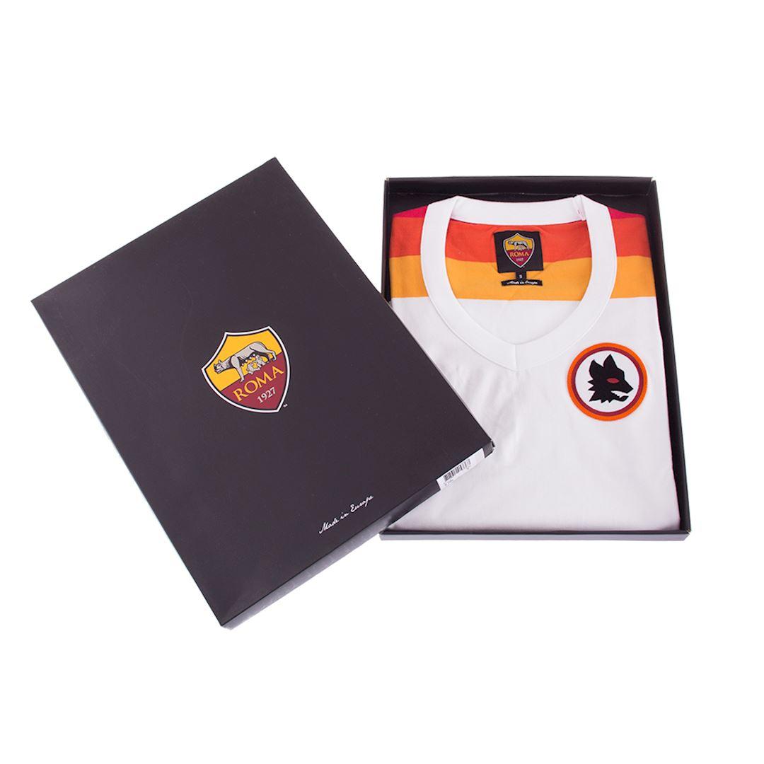 AS Roma 1978 - 79 Away Womens Camiseta de Fútbol Retro | 6 | COPA