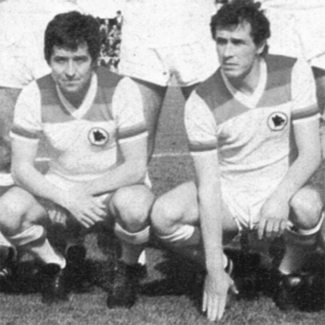 AS Roma 1978 - 79 Away Womens Camiseta de Fútbol Retro | 2 | COPA
