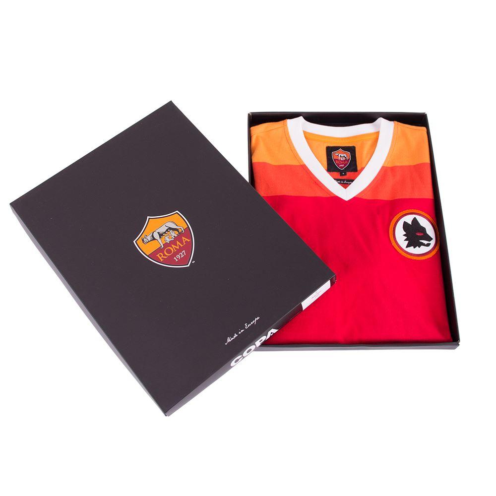 AS Roma 1978-79 Retro Football Shirt | 6 | COPA