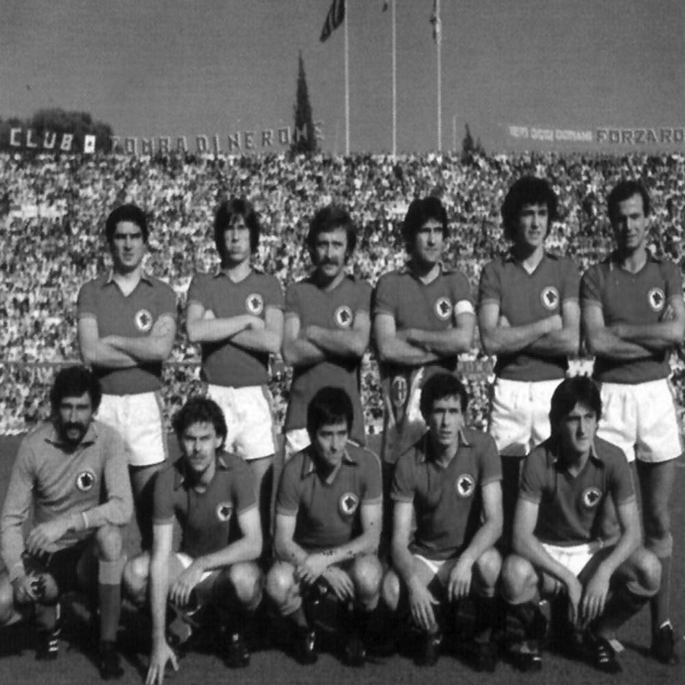 AS Roma 1978 - 79 Retro Voetbal Shirt | 2 | COPA