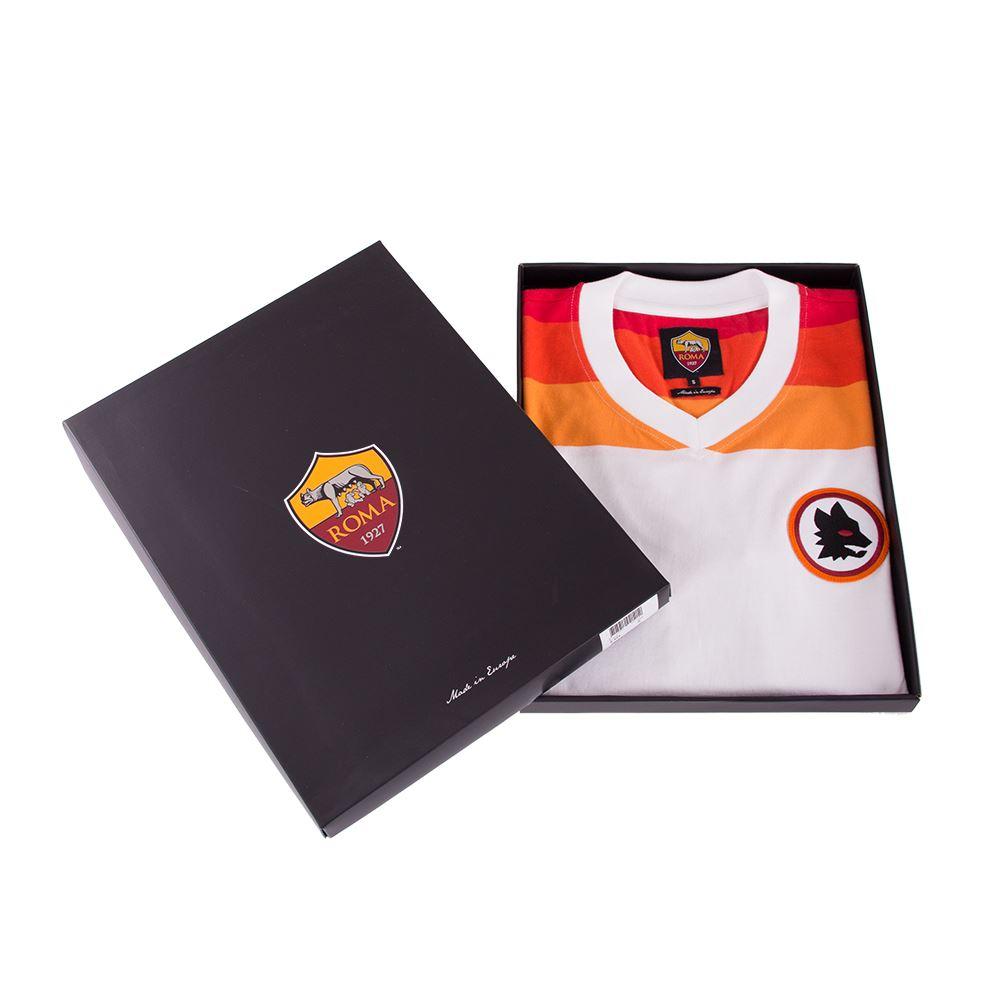 AS Roma 1978 - 79 Away Retro Football Shirt | 7 | COPA