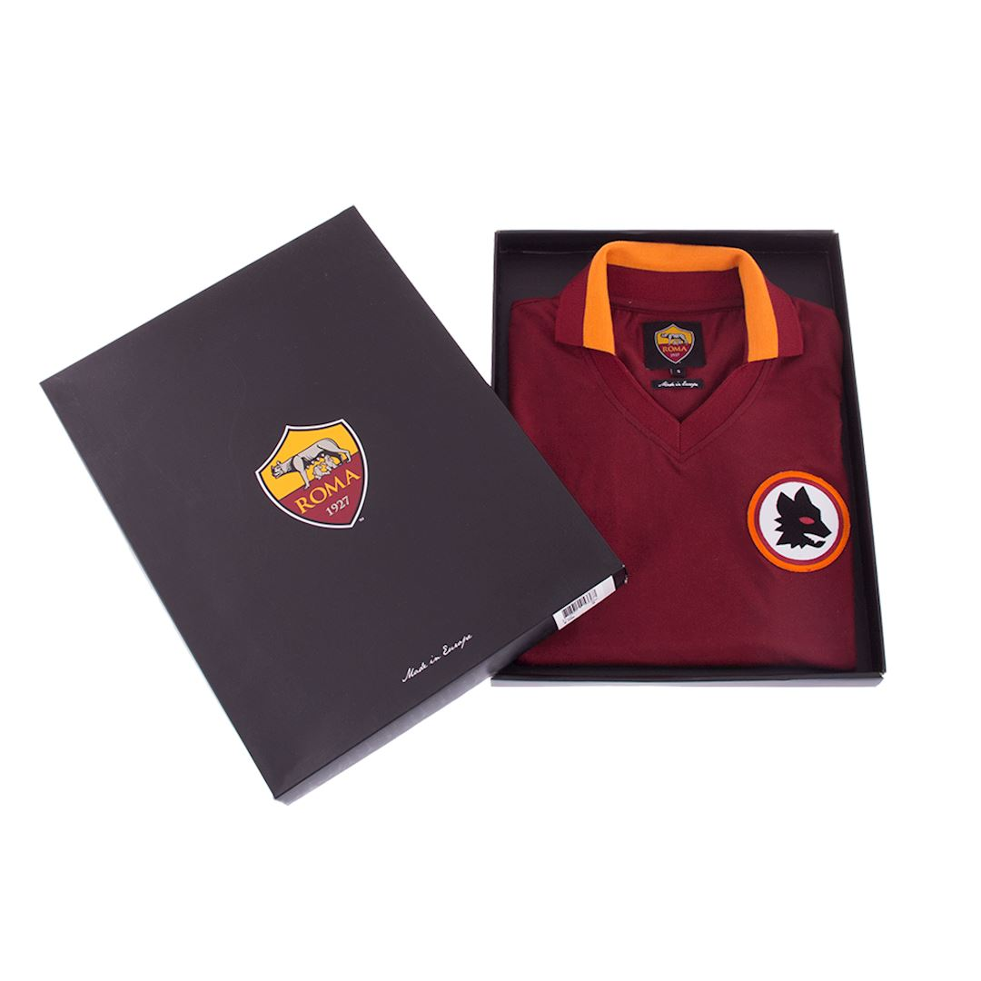 AS Roma 1978 - 79 Womens Camiseta de Fútbol Retro | 6 | COPA