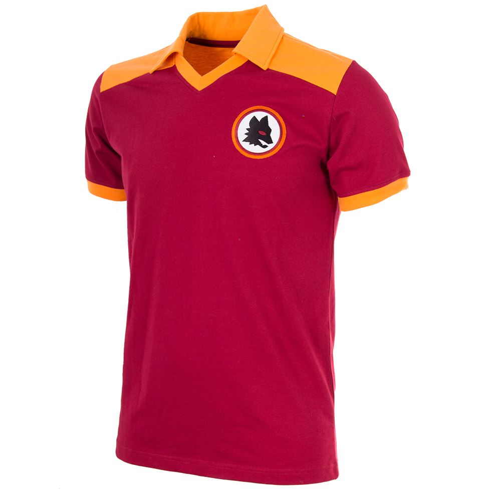 AS Roma 1980 Retro Football Shirt | 1 | COPA