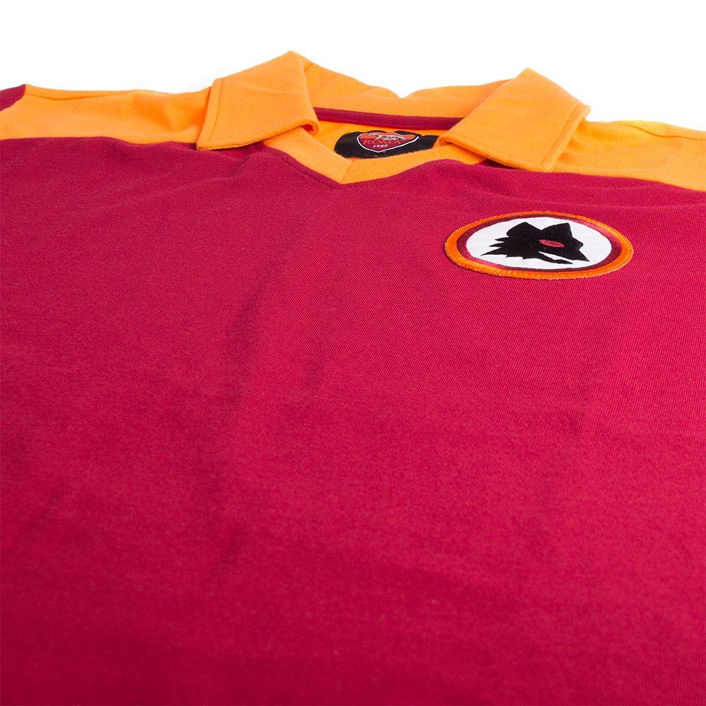 AS Roma 1980 Retro Football Shirt | 5 | COPA