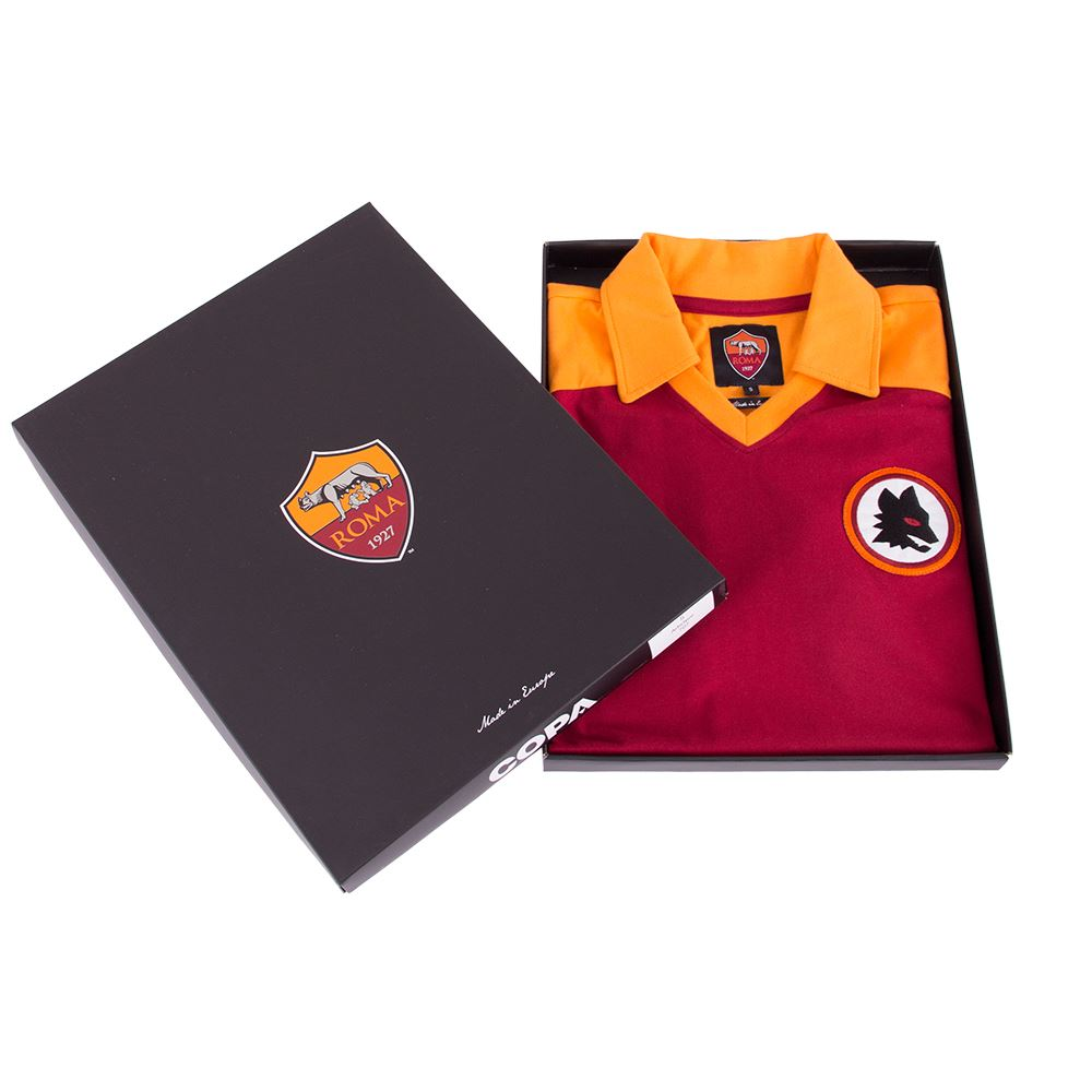 AS Roma 1980 Retro Football Shirt | 6 | COPA