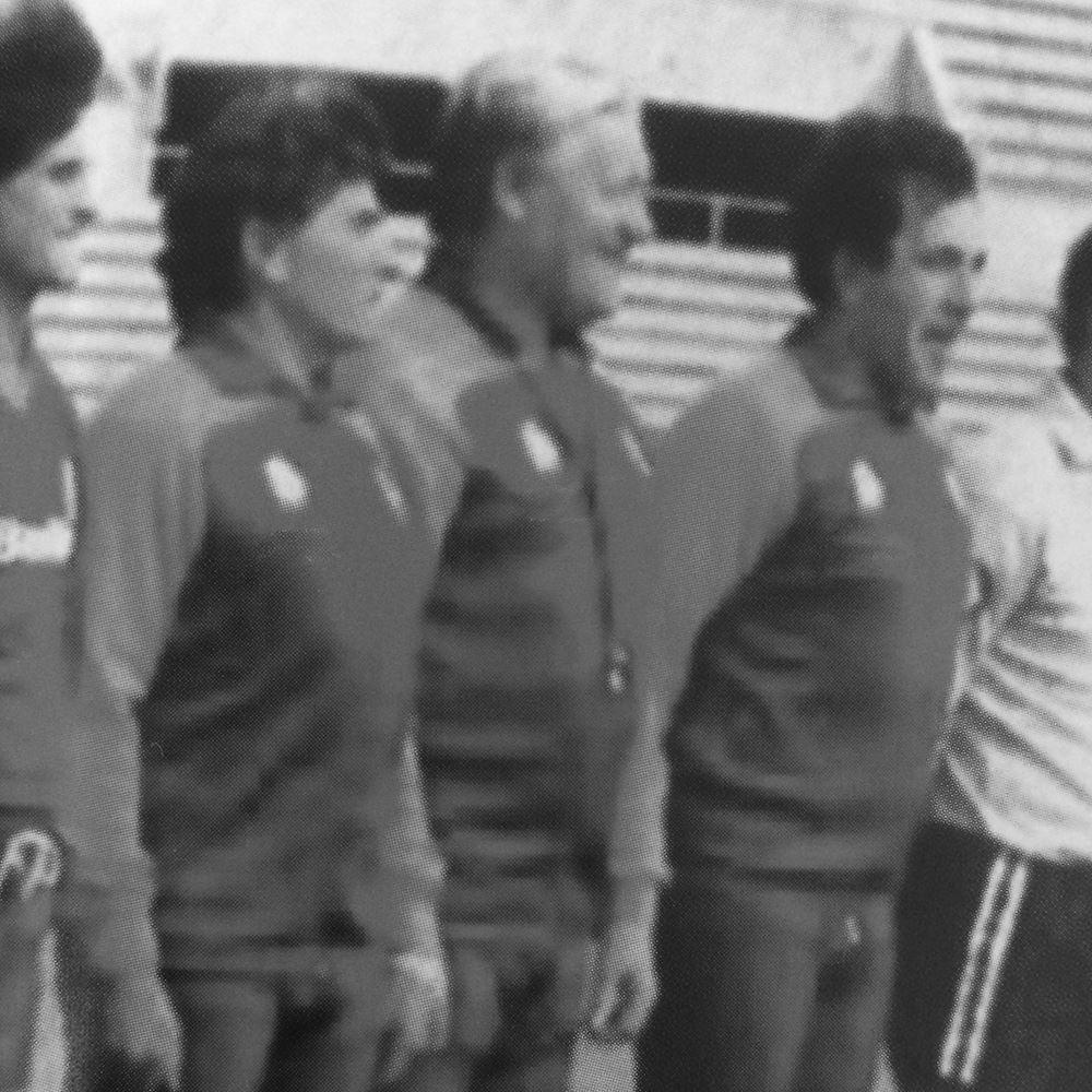 AS Roma 1983 Scudetto Retro Football Jacket | 2 | COPA