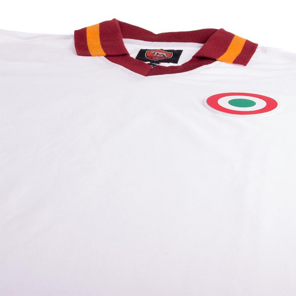 AS Roma Away 1980-81 Retro Voetbal Shirt | 6 | COPA