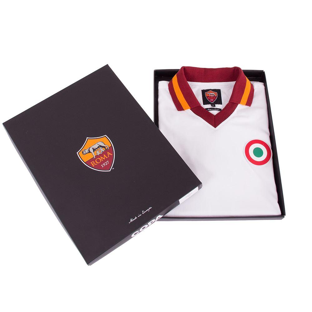 AS Roma Away 1980-81 Retro Voetbal Shirt | 7 | COPA