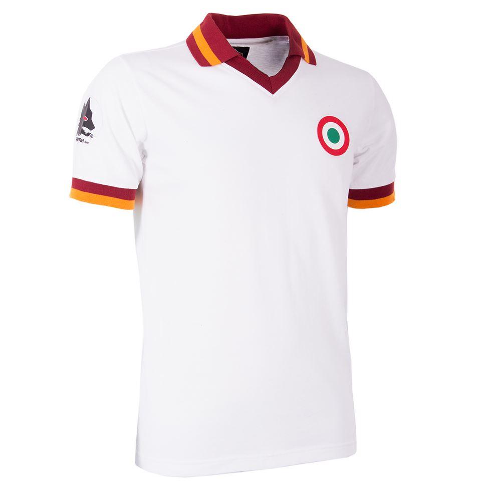 AS Roma Away 1980-81 Retro Voetbal Shirt | 3 | COPA