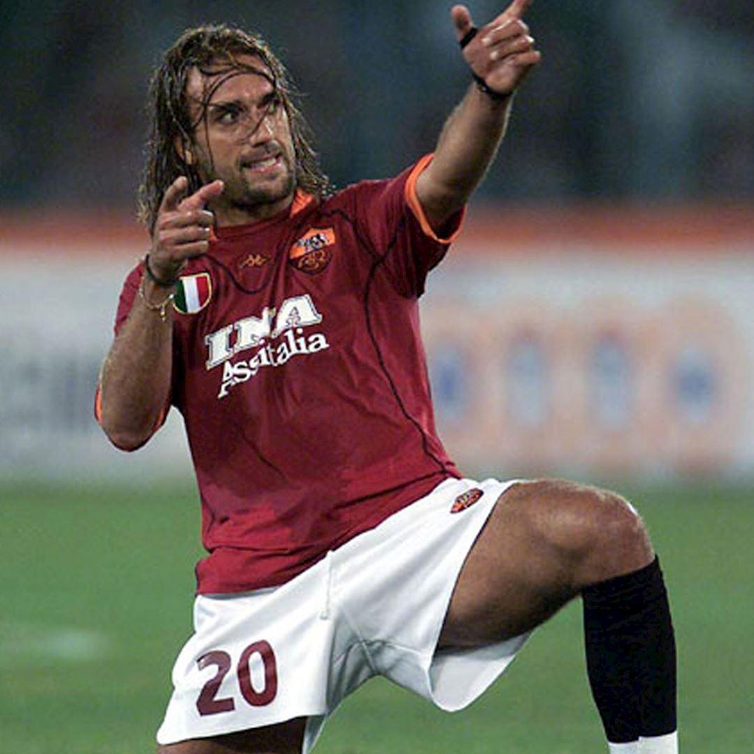 AS Roma Batistuta Casual Sokken | 2 | COPA