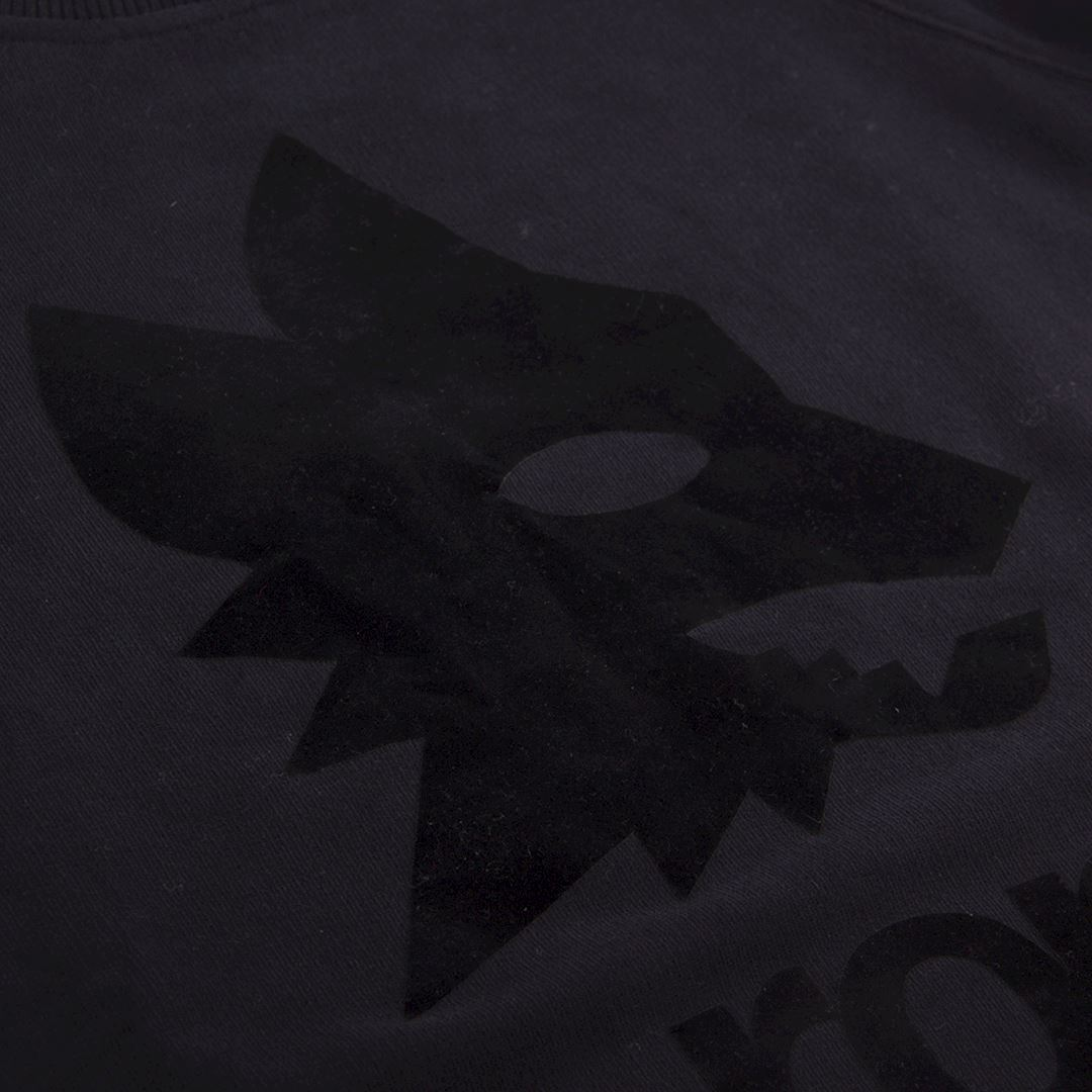 AS Roma Black Out Retro Logo Sweater | 2 | COPA