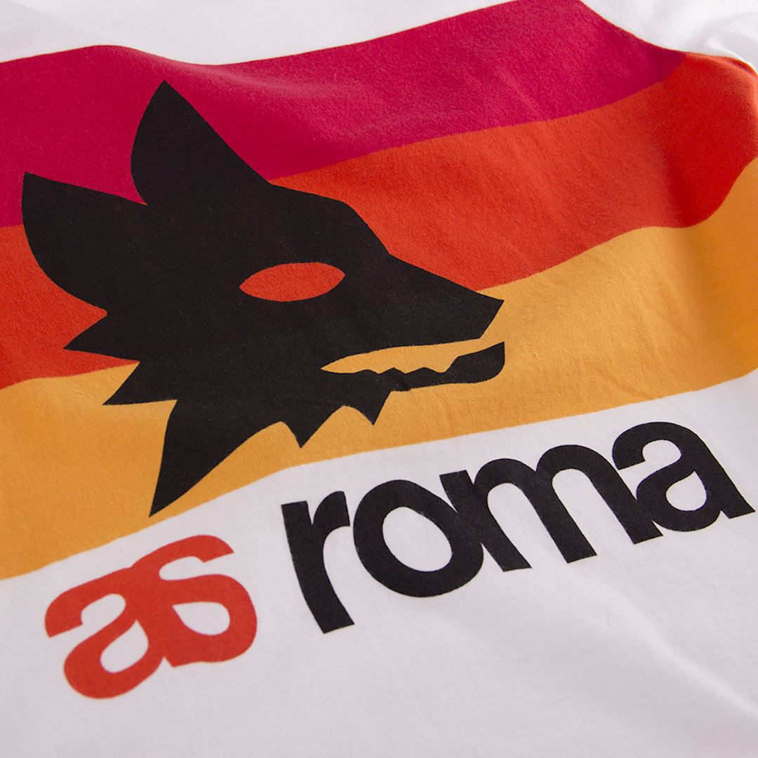 AS Roma Retro T-Shirt | 2 | COPA