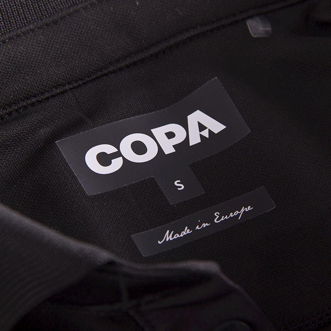 All Black Football Shirt   6   COPA