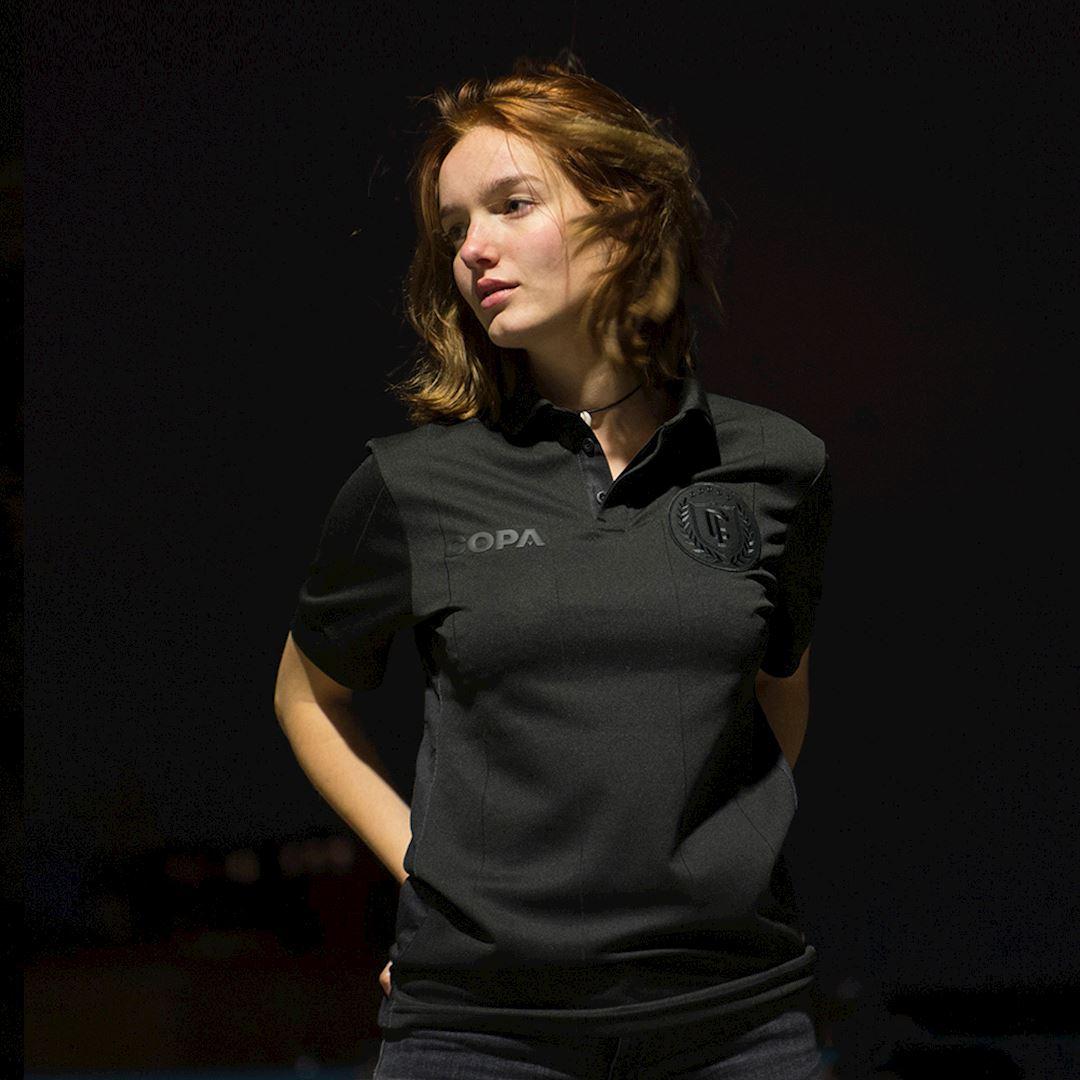 All Black Camiseta de Fútbol   9   COPA