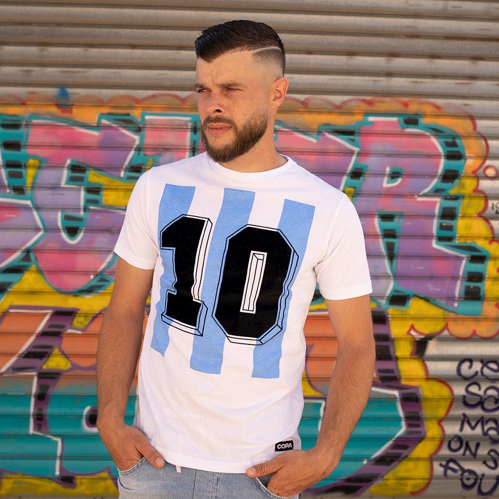 Argentina Number 10 T-Shirt | 4 | COPA
