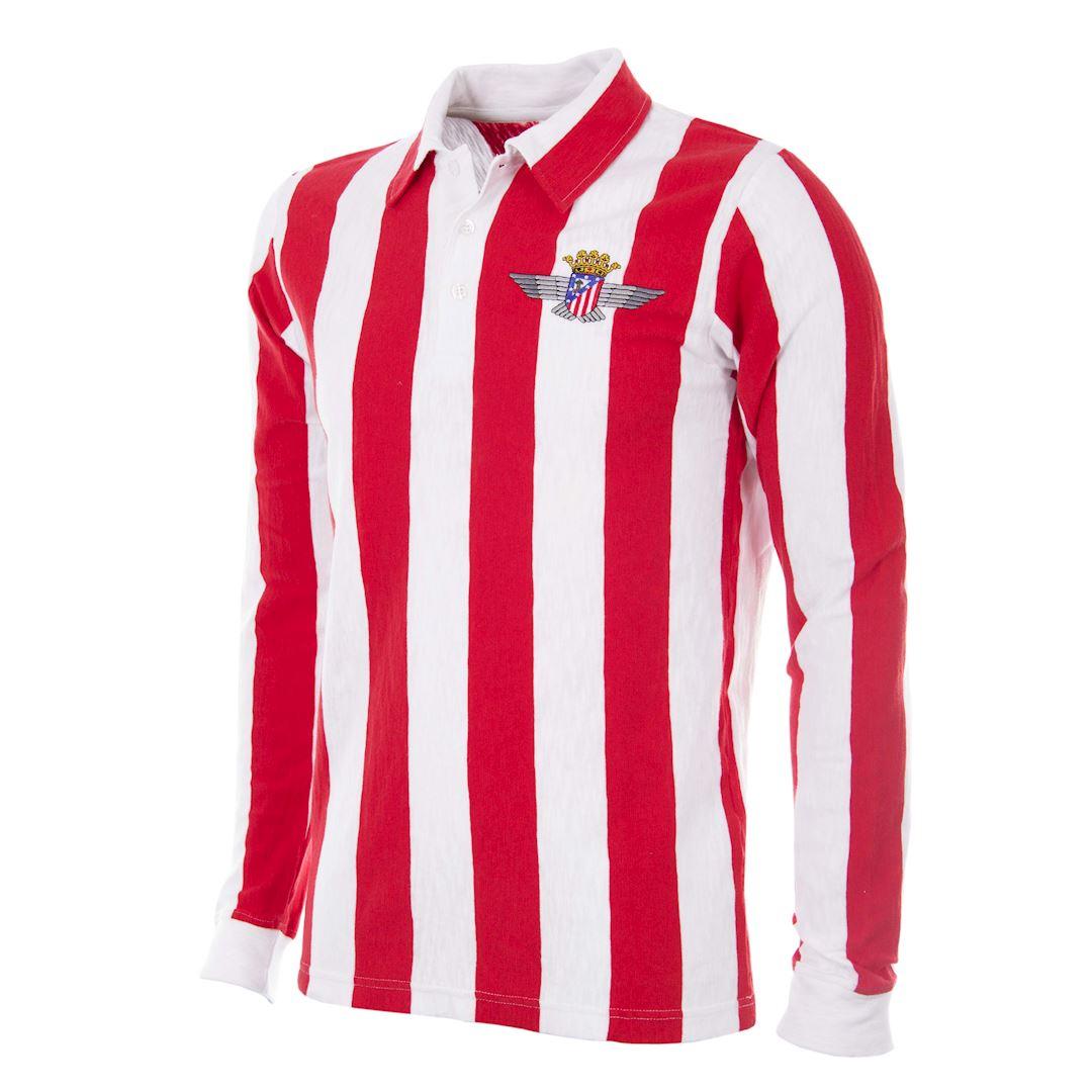 Atletico de Madrid 1939 - 40 Retro Football Shirt | 1 | COPA