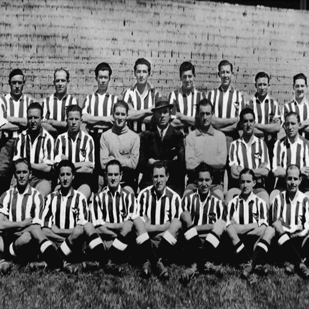 Atletico de Madrid 1939 - 40 Retro Football Shirt | 2 | COPA