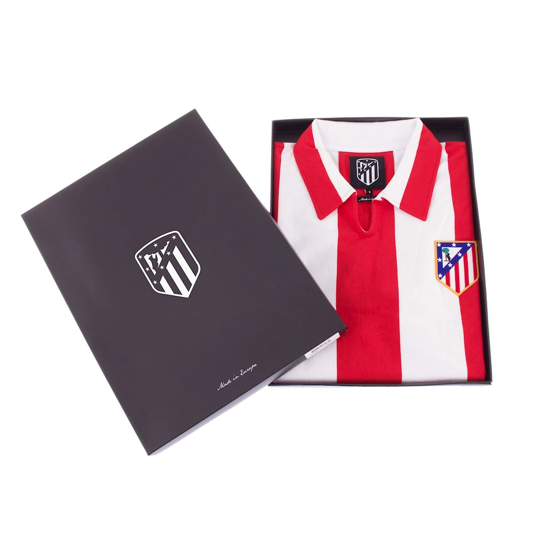 Atletico de Madrid 1970 - 71 Retro Football Shirt | 6 | COPA