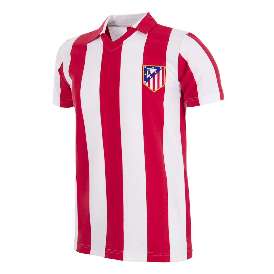 278 | Atletico de Madrid 1985 - 86 Retro Football Shirt | 1 | COPA