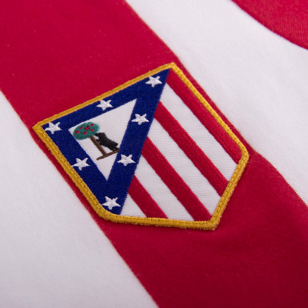 Atletico de Madrid 1985 - 86 Retro Football Shirt | 3 | COPA