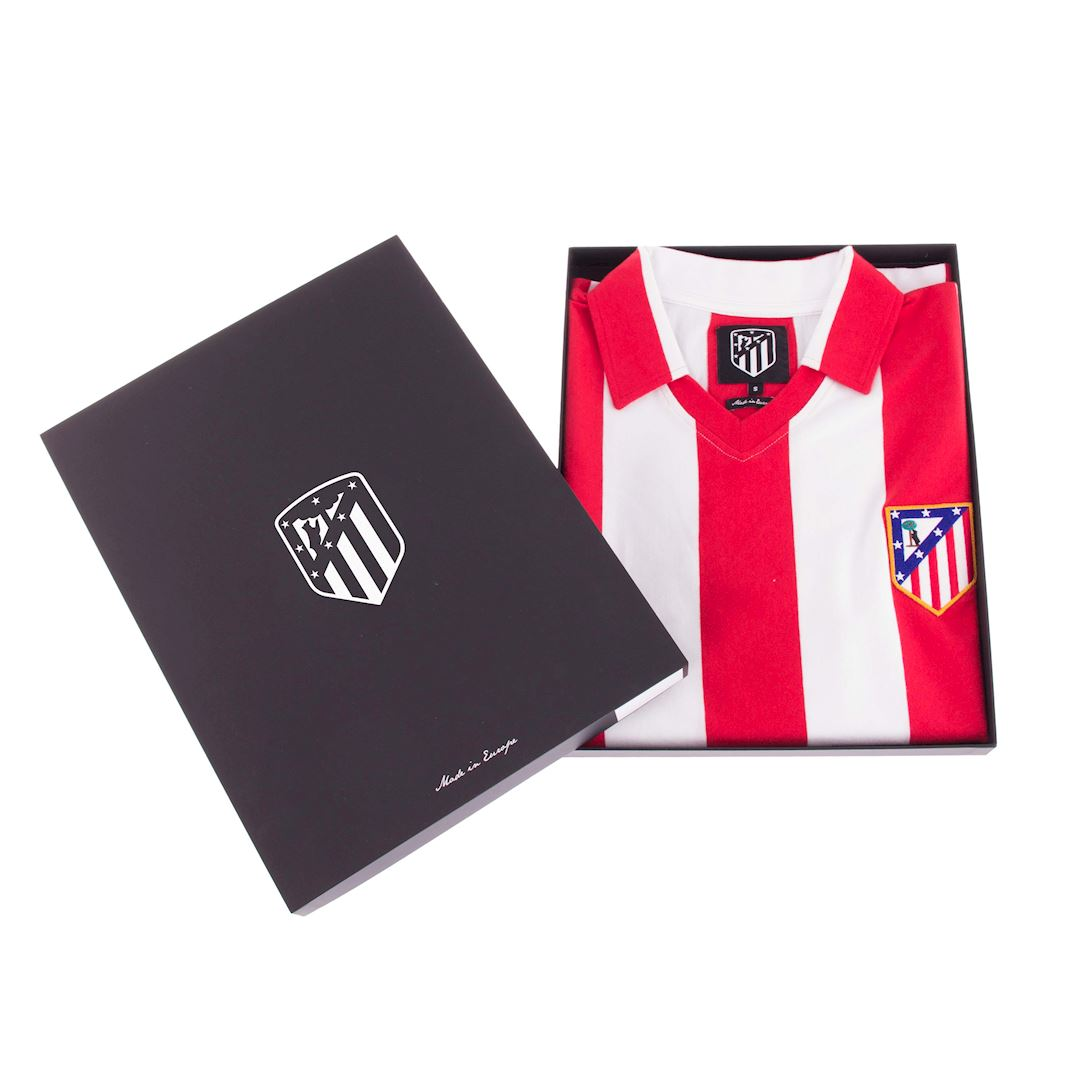 Atletico de Madrid 1985 - 86 Retro Football Shirt | 6 | COPA