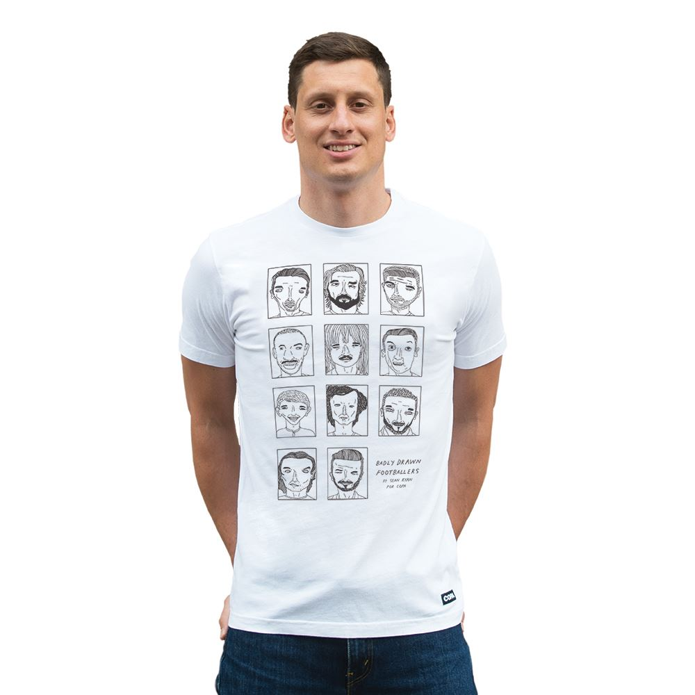 Badly Drawn Footballers T-Shirt | 6 | COPA