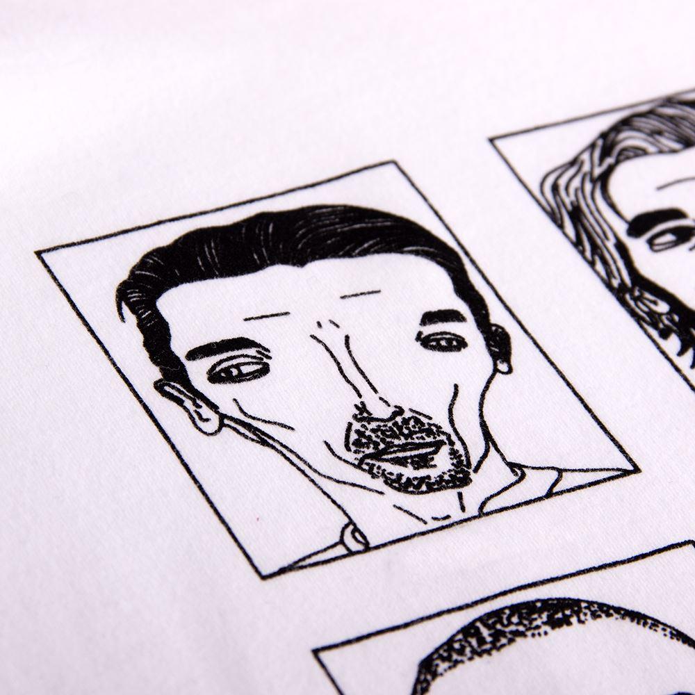 Badly Drawn Footballers T-Shirt | 3 | COPA