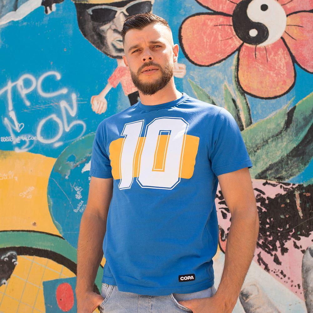 Boca Number 10 T-Shirt   4   COPA