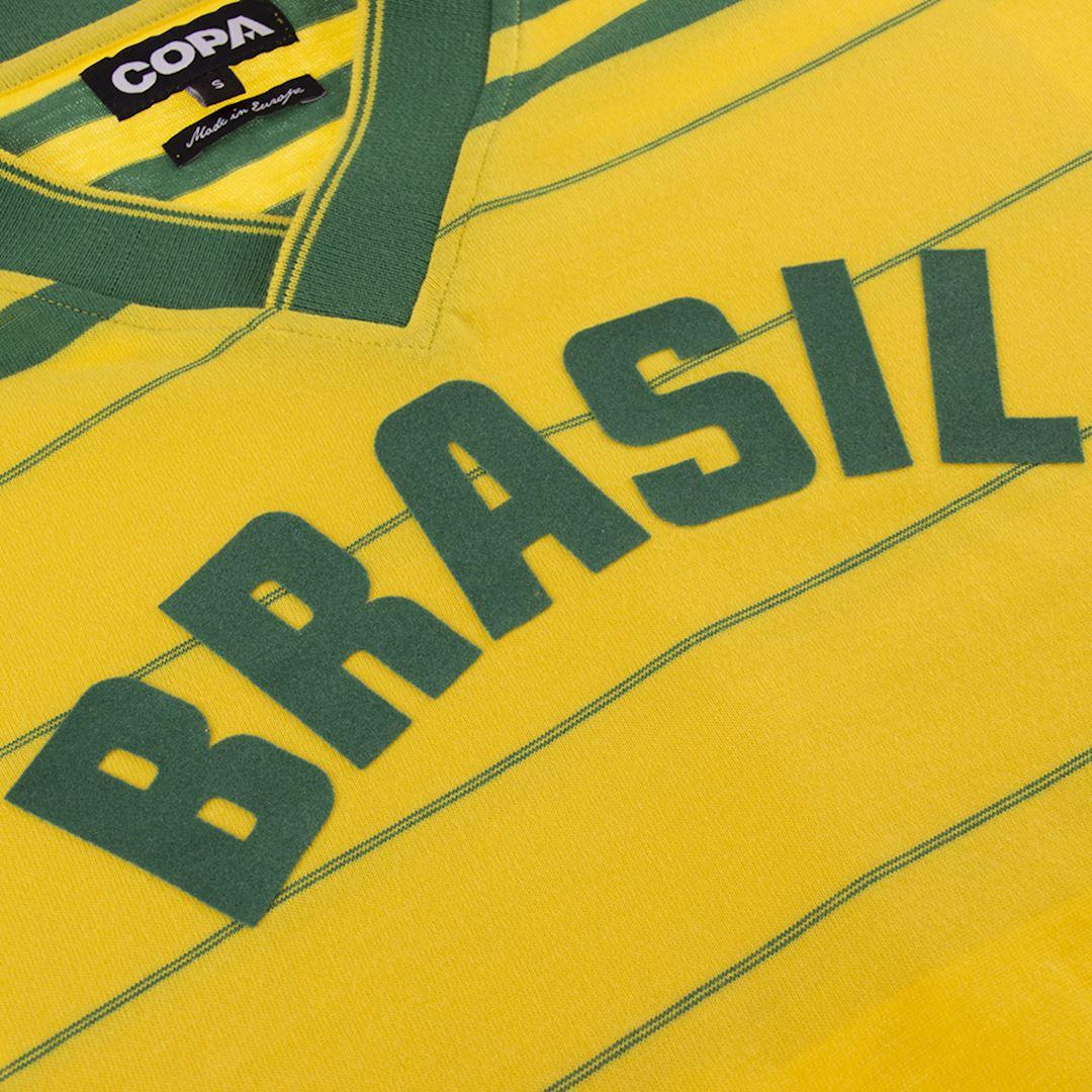 Brazil 1984 Retro Football Shirt | 4 | COPA