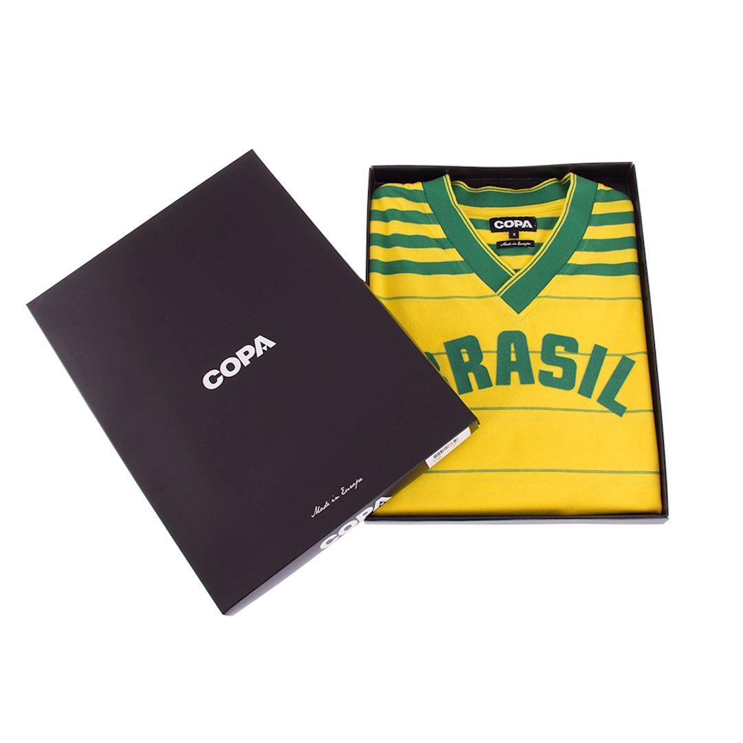 Brazil 1984 Retro Football Shirt | 6 | COPA