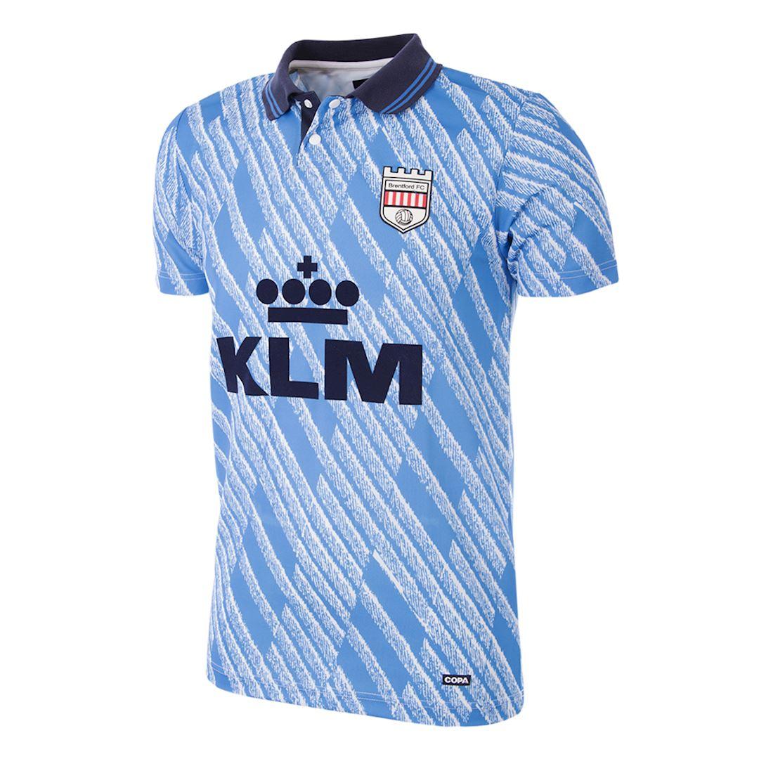 Brentford FC 1992 - 94 Away Retro Football Shirt   1   COPA