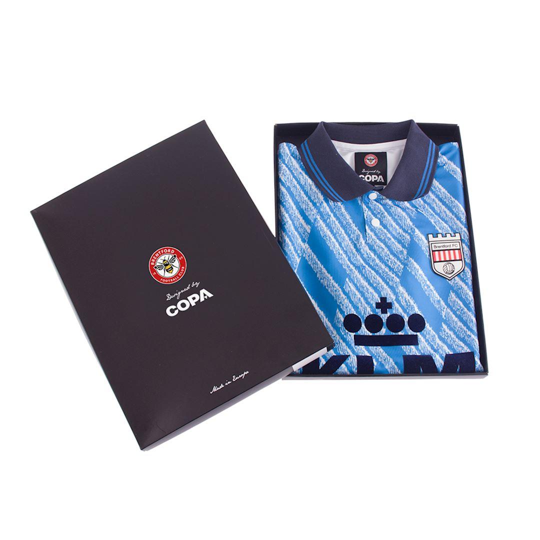 Brentford FC 1992 - 94 Away Retro Football Shirt   7   COPA
