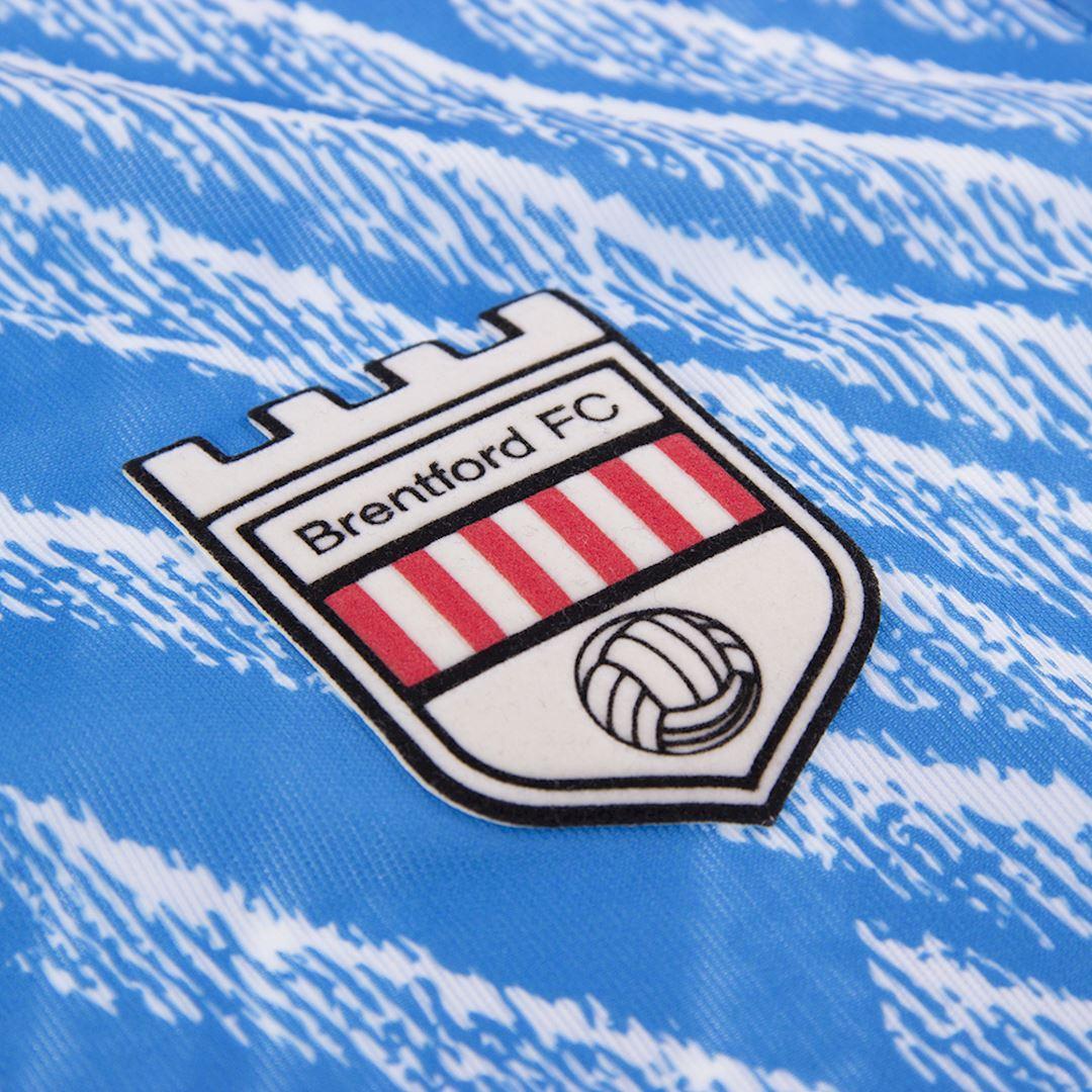 Brentford FC 1992 - 94 Away Retro Football Shirt   3   COPA