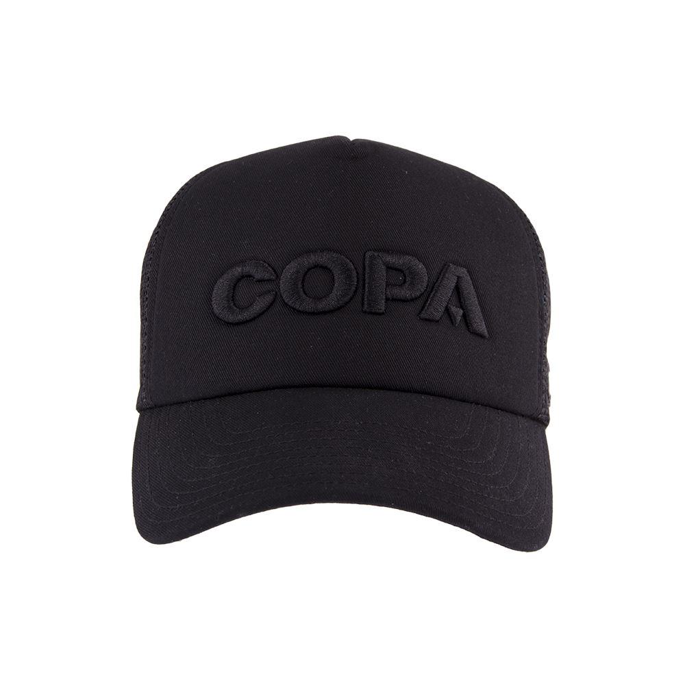 COPA 3D Black Logo Trucker Cap | 2 | COPA
