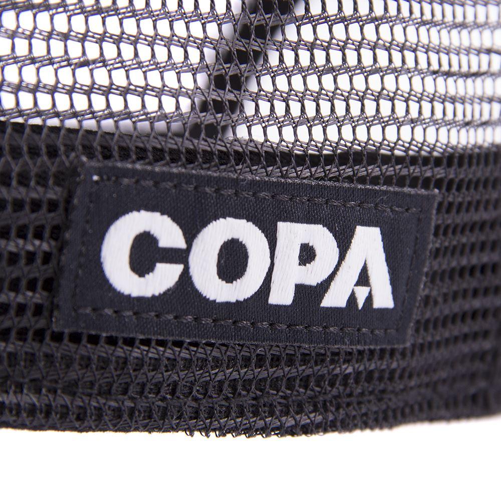 COPA 3D Black Logo Trucker Cap | 5 | COPA
