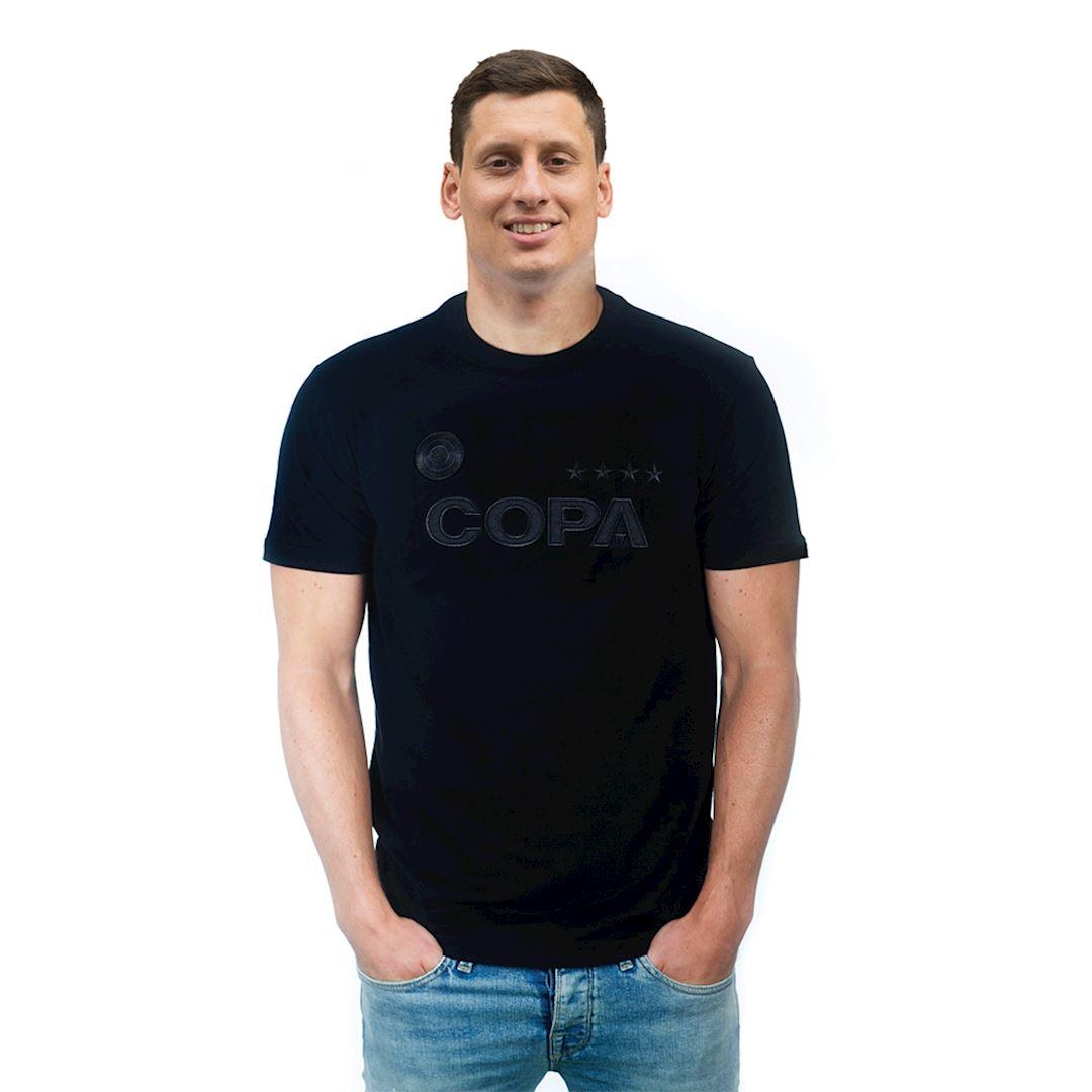 COPA All Black Logo T-Shirt   5   COPA