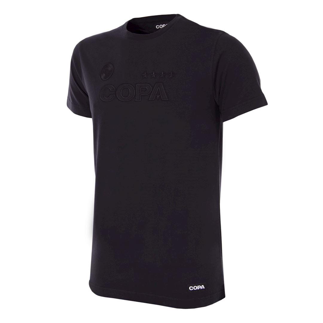 COPA All Black Logo T-Shirt   1   COPA