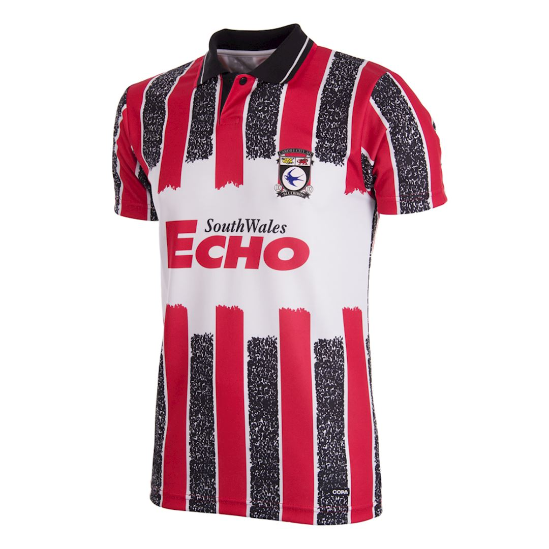 Cardiff City FC 1993 - 94 Away Retro Football Shirt | 1 | COPA