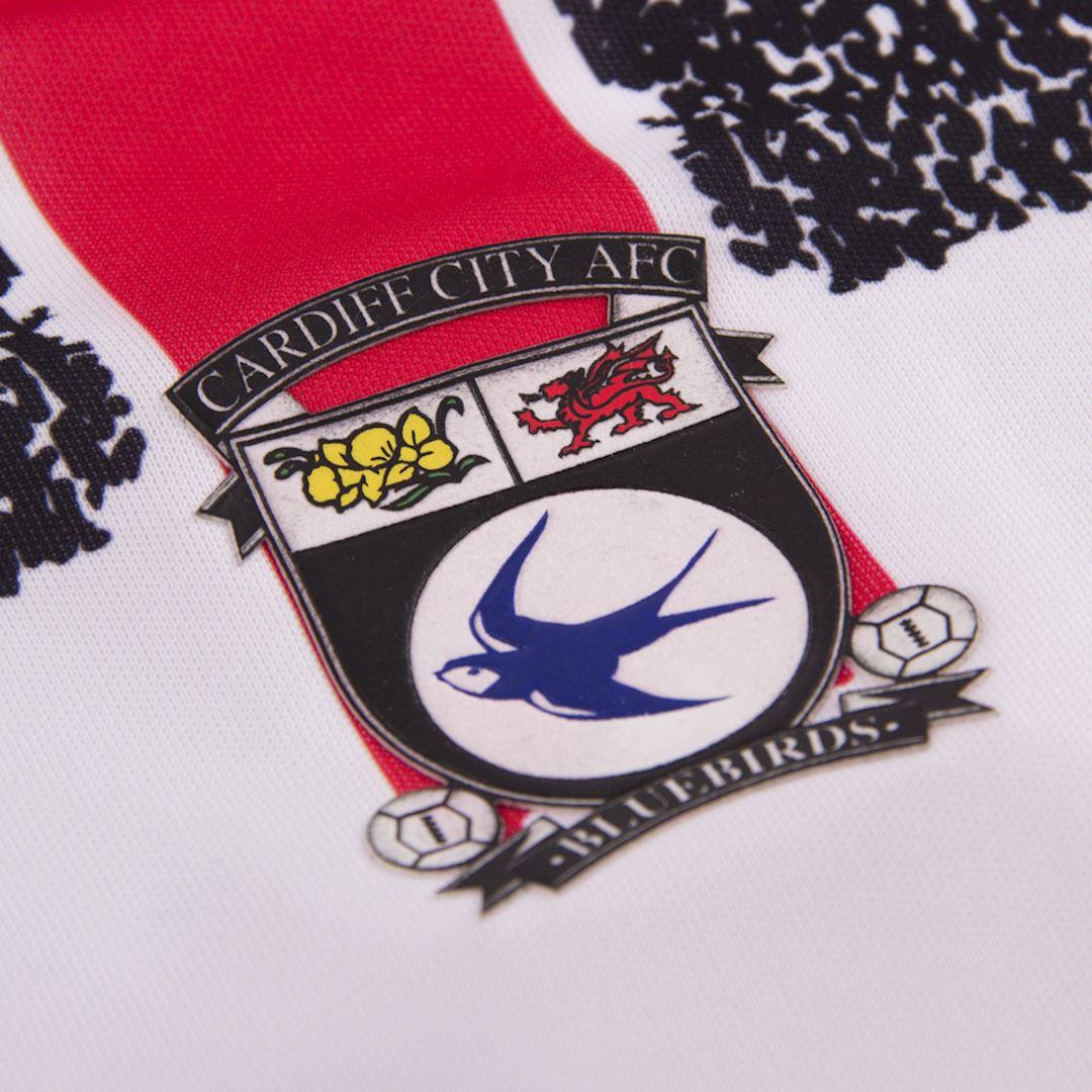 Cardiff City FC 1993 - 94 Away Retro Football Shirt | 3 | COPA