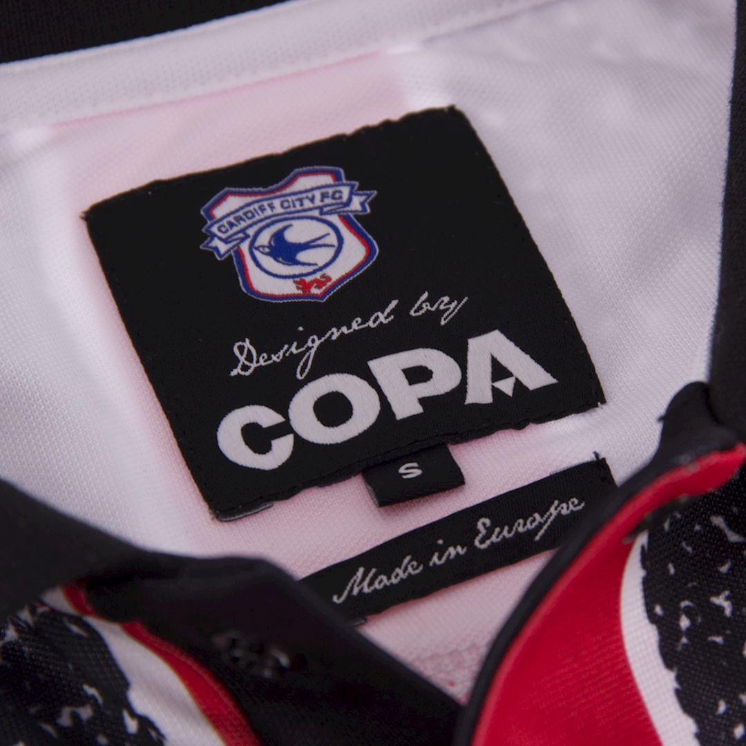 Cardiff City FC 1993 - 94 Away Retro Football Shirt | 5 | COPA