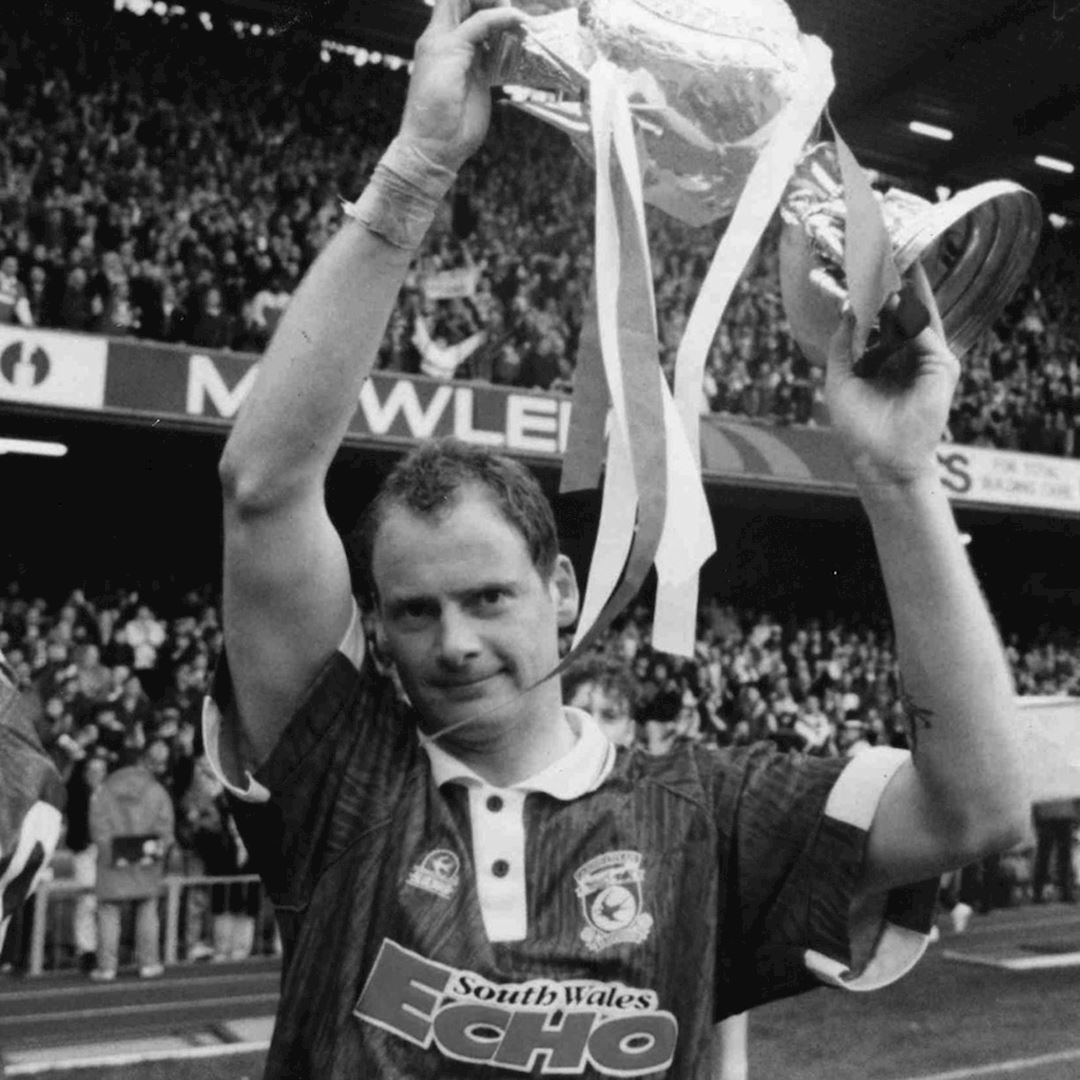 Cardiff City FC 1993 Retro Football Shirt | 2 | COPA