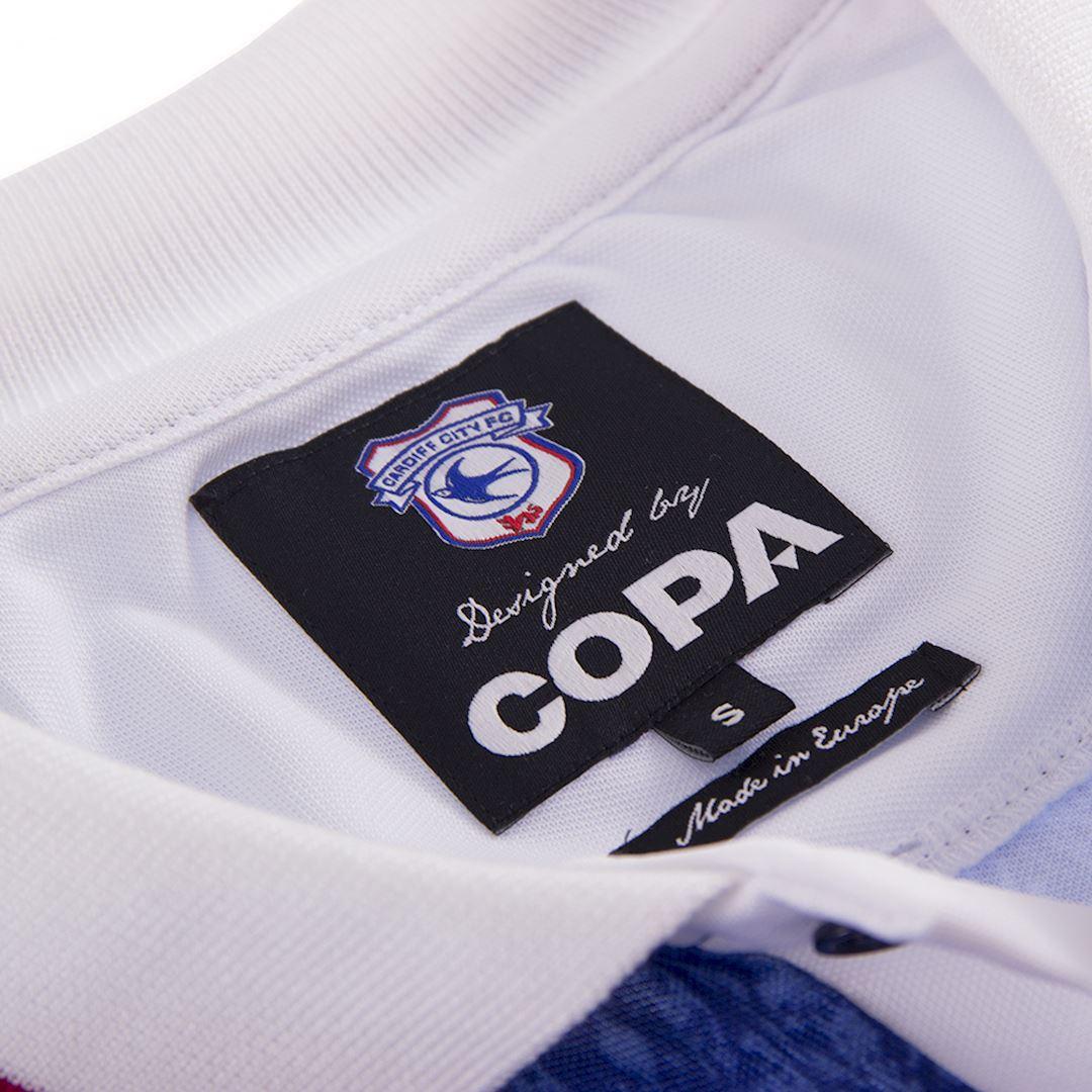 Cardiff City FC 1993 Retro Football Shirt | 5 | COPA
