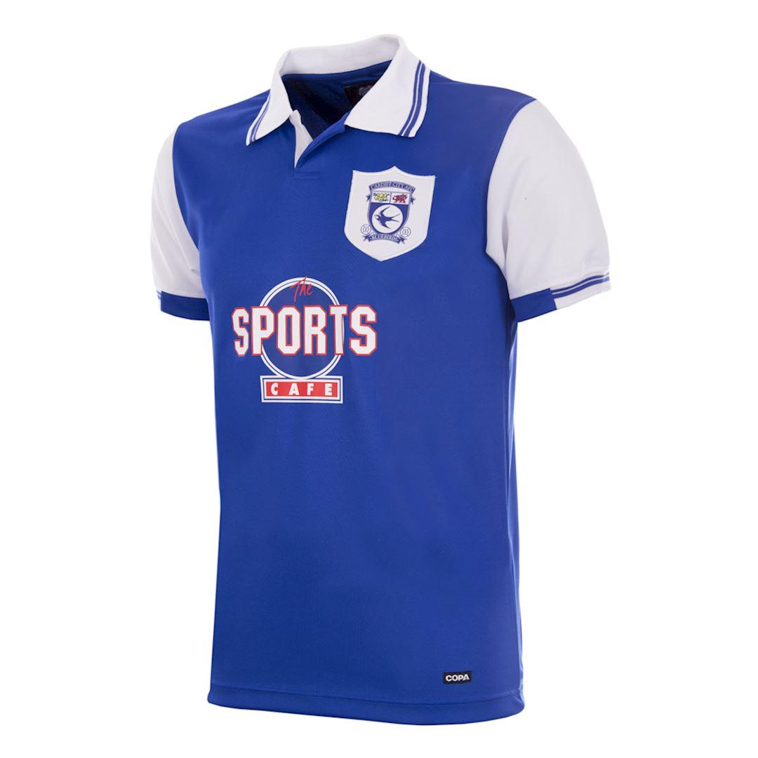 Cardiff City FC 1998 - 99 Retro Football Shirt | 1 | COPA